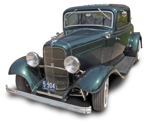Dick Wood's 2011 Ray Award winner – 32 3-window coupe