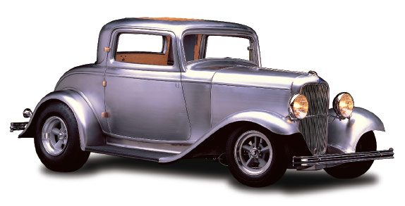 32 3-window coupe full fendered kit