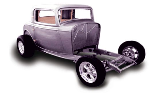 32 3-window coupe hiboy kit