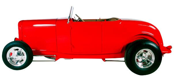 Red 32' Roadster