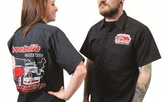 "Black ""Made in America"" Work Shirt"