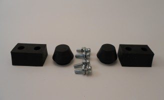 B41484S: 28-32 Rumble Lid Bumper Kit (2 round, 2 square, 4 screws)