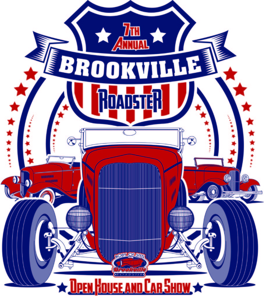 Seventh Annual Open House And Car Show TShirts Brookville Roadster - Car show t shirts